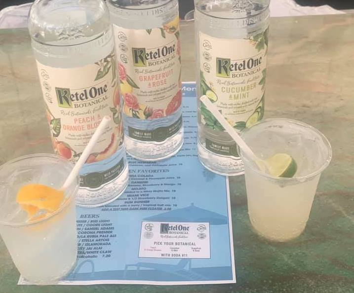 kettle one botanicals debut at lago mar resort