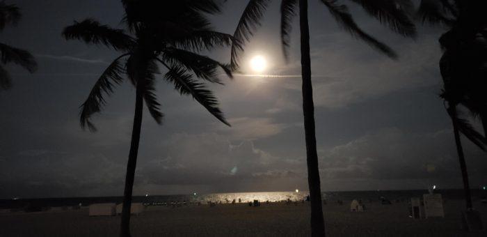 full moon night fort lauderdale beach lago mar resort