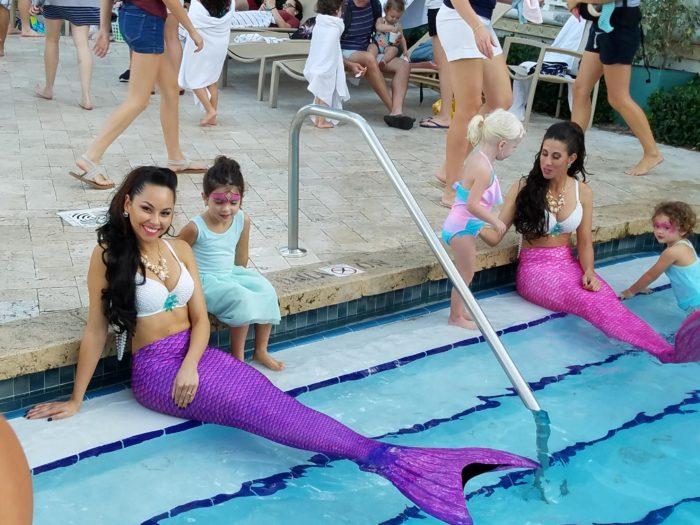 mermaids in the pool lago mar