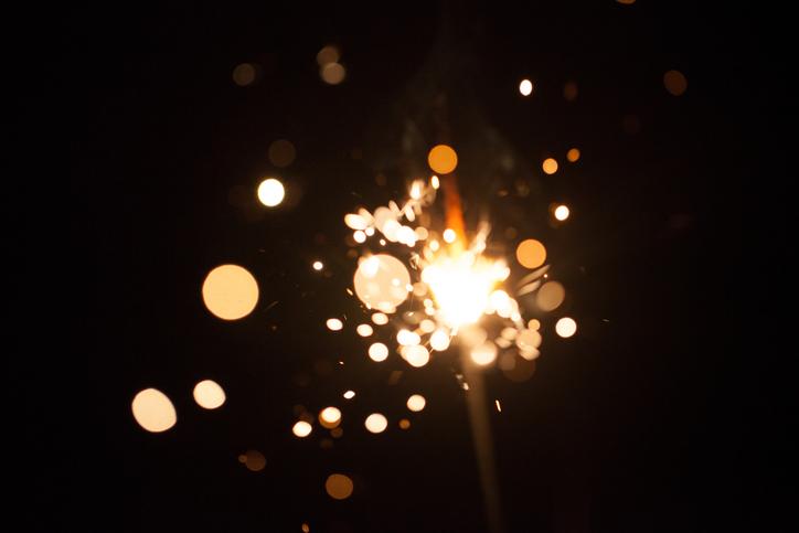 Firework spark firework