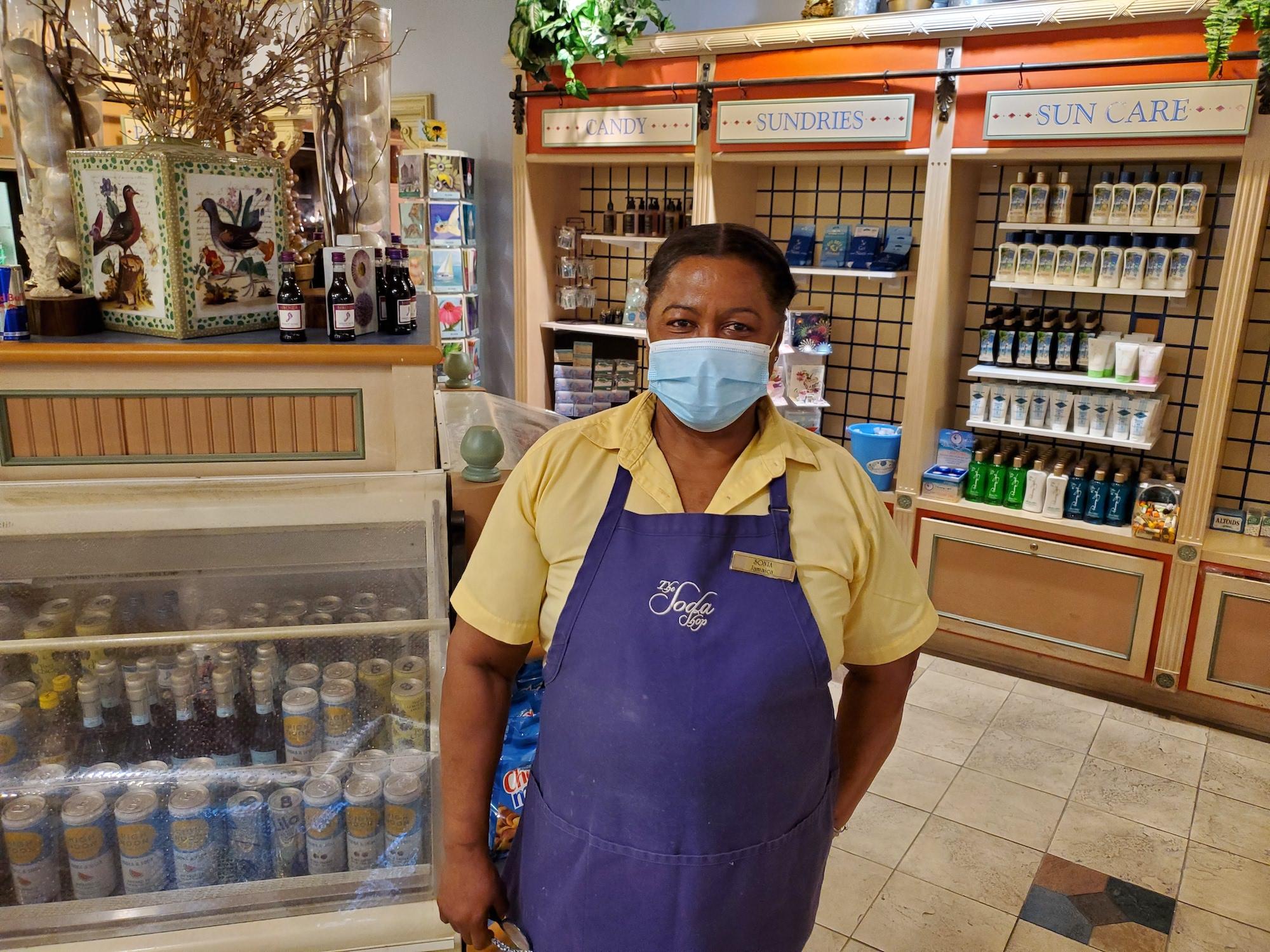employee appreciation day sonia in soda shop