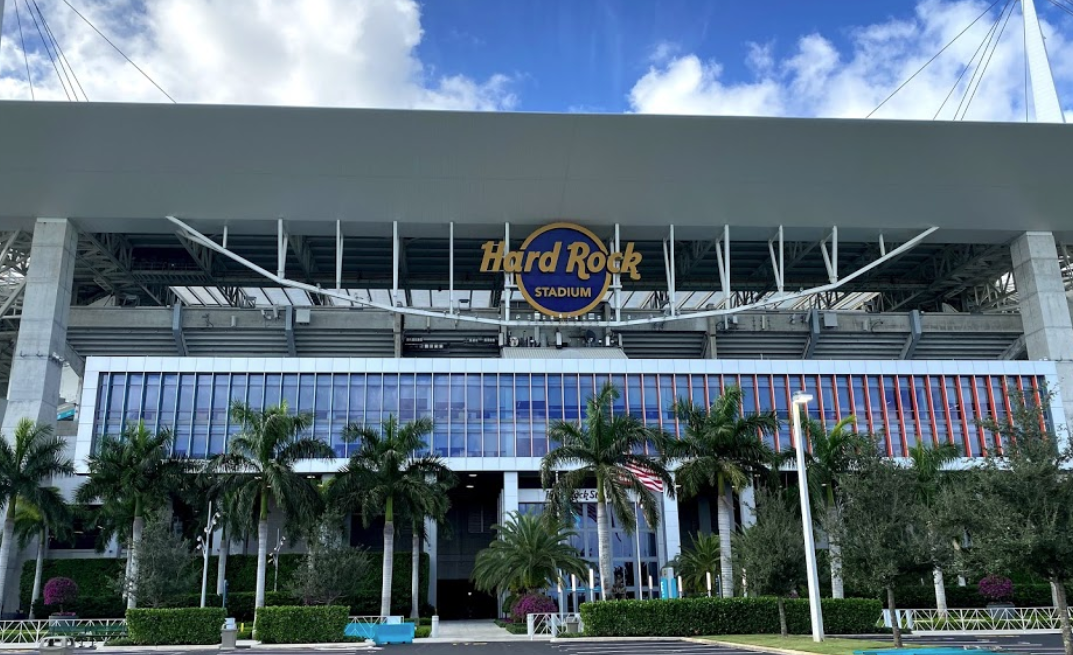 hard rock stadium front gavin keith