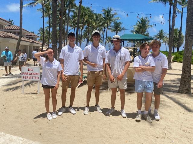 lago mar resort beach crew fourth generation sailor