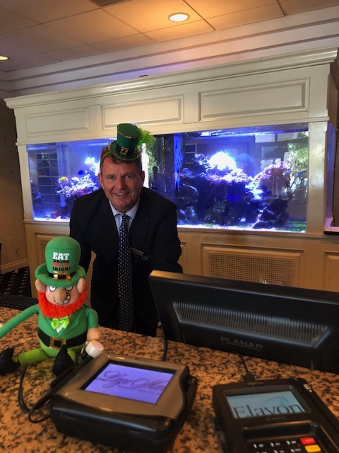 front desk st. patrick's day